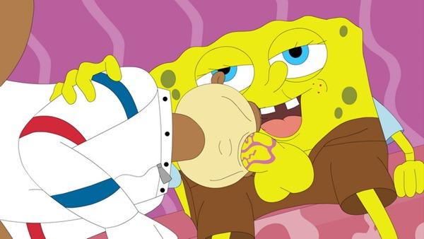 cartoon-gonzo-spongebob-getting-his-cock-sucked